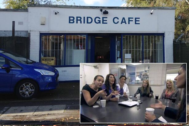Bridge cafe apprentice U.K. inset