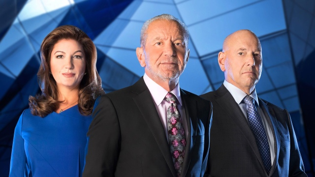 Karren Brady, Lord Alan Sugar and Claude Littner
